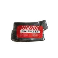 KENDA 建大自行車內胎 20x1.25/1.5 F/V 法嘴一條75一組兩條150