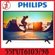 Philips 55PUT6103/98 4K Ultra Slim Smart LED 50 inch TV (55PUT6103/98)