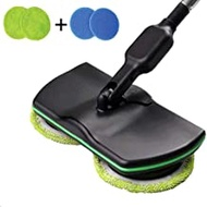HHXCQ Cordless Rechargeable Electric Mop - Floor Cleaner + Scrubber Dual Head Spin Rotating Polisher and Scrubber for Indoor Any Surfaces
