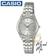 Casio Standard นาฬิกาข้อมือผู้หญิง สายสแตนเลส รุ่น LTP-1129A