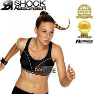 ::bonJOIE:: 英國進口 Shock Absorber Run Sports Bra 黑色款 運動型內衣 (全新盒裝) (S5044 Level 4)