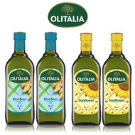 (老爹特惠)【奧利塔olitalia】玄米油2瓶+葵花油2瓶(1000mlx4瓶-禮盒組)