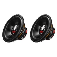 Boss Audio 10-Inch Single Voice Coil 1200 Watt Max Subwoofer (2 Pack) | P10SVS