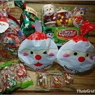 【已售完】超可愛造型包裝 聖誕老公公 雪人 馴鹿 造型軟糖 小朋友一定會喜歡 聖誕節 萬聖節 糖果 軟糖【胖胖豬】