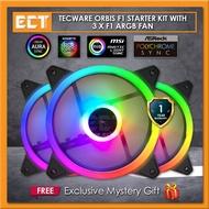 Tecware ORBIS F3 Starter Kit with 3 x F3 ARGB Fan