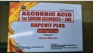 Rapcvit Pkus sodium ascorbate plus zinc