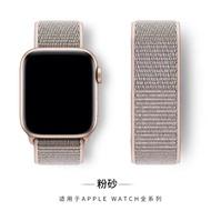 hot สายApplewatch sport loop สายผ้าไนลอน สายApplewatch watch 1/2/3/4/5/6 ลิ้งค์1 38mm 40mm 42mm 44mm