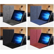 Protective Folding Folio Cases for Surface Pro4 Pro5 Pro6 GO GO 2 Leather Stand Cover Surface Proprotector