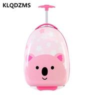เด็กกระเป๋ารถเข็นกระเป๋า16นิ้วกระเป๋าเดินทางสำหรับเด็กบนล้อเด็กน่ารักสาวกระเป๋าถือกระเป๋าเดินทาง