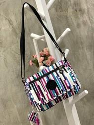 กระเป๋า กระเป๋าสะพายผญ KIPLING SABIAN PRINTED CROSSBODY MINI BAG ครอสบอดี้ กระเป๋าสะพายข้าง กระเป๋าผู้หญิง ของแท้ 100%