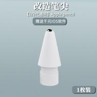 Apple Applepencil Nib ปากกาหมวกอะแดปเตอร์ชาร์จอุปกรณ์เสริม Ipadpencil Nib แขน Ipencil Capacitor Nib Generation 1รุ่นที่2เปลี่ยน Original ดินสอเคสโทรศัพท์กันกระแทกเดิมสำหรับดินสอ [ปลายปากกา,ปากกาหมวก,อะแดปเตอร์ชาร์จ]