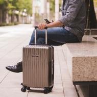 【NaSaDen 納莎登】海德堡系列28吋100%德國拜耳純PC超輕量旅行箱(格雷芬鈦)