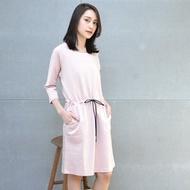 【FANTINO】刺繡連身洋裝(粉)1862102