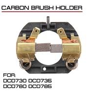 帶電刷的無繩電鑽碳刷架DeWalt DCD730 DCD735 DCD780 DCD785