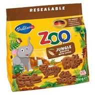 [Bahlsen百樂順] 動物造型餅乾100g(巧克力口味)