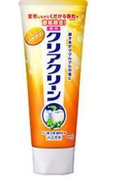 日本 Kao 花王 Clear Clean 美白牙膏 柑橘香味 原裝正品 預防蛀牙 限定版 日本製