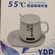 USB重力感應恆溫加熱保暖杯墊