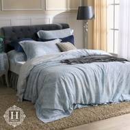 HOYA H Series溫斯特 加大四件式80支頂級天絲被套床包組