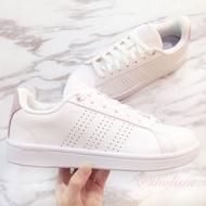 保證正品✨ adidas 愛迪達 advantage clean Cloudfoam  白鞋 女 休閒鞋 厚底 繃帶鞋