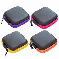 หูฟังขนาดเล็กกระเป๋าเดินทางชาร์จสำหรับหูฟังแพคเกจซิปกระเป๋าแบบพกพาTravel Cable Organizer