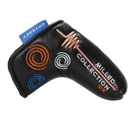 Odyssey Branded New Golf Club Blade Putter Mallet Putter Head Cover Circle High Quality For Golf Club Head Protect Cover Outdoors Golf Play