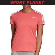 adidas Women ESSENTIALS 3-STRIPES TEE Shirt Baju Perempuan (DU0634) Sport Planet 24-10