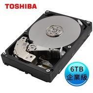 Toshiba 東芝 3.5吋 企業級 6TB SATA 7200RPM 256MB  內接硬碟 MG06ACA600E