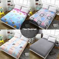 Bed Sheet Cover Foam Cover Mattress Cover Matress Protector Queen/King/Double Size Single Bed Sheet