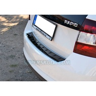 SKODA RAPID SPACEBACK後保桿防刮板