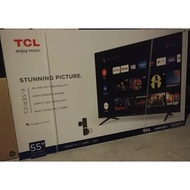 TCL 55-inch LED 4K Smart Android TV