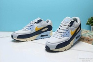 Nike_Air_Max 90 sports Running Shoes Men's and Women's รองเท้าที่สวมใส่ทน 36-45