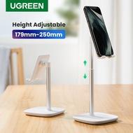 UGREEN Phone Holder Metal 5°~45° Muti-Angle Adjustable Desk Phone Holder Tablet Stand แท่นวางโทรศัพท์มือถือสมาร์ทโฟน แท็บแล็ต แบบตั้งโต๊ะ สำหรับ Huawei Y9 iPhone XR Samsung S10+ และมือถือทั่วไป