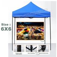 6x6 600D Economy Canopy Set / Tent / Kanopi / Khemah ( 2m x 2m )