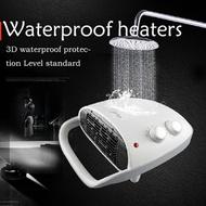 Midea heater  Household Bathroom heater machine 3D waterproof wall heater Office Mini Heater Waterproof heaters 3D waterproof protection Level standard