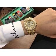 ~   @ ROLEX 勞力士 GMT陶瓷圈 男士手錶 勞力士格林尼治型II 腕錶 機械錶 滿天星方鑽