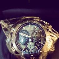 千米防水機械計時碼錶、invicta.英威塔‧漫威聯名錶‧黑豹‧瑞士機芯,全球限量0006/3000