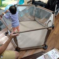 二手。日本品牌 JTC 遊戲圍欄六片型 J7303 安全圍欄 幼兒圍欄