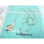 【Light & co.】專櫃真品 TIFFANY & CO 925 純銀 水滴 眼淚 淚滴 項鍊 大 水滴