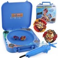 現貨F0001移動收納爆裂爆旋戰鬥陀螺盤 升級版玩具收納盒戰鬥盤雙人對戰陀螺多功能手提式工具箱套裝