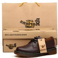 รองเท้าบุรุษรองเท้าลำลองPromotion!! Low Top Dr.Martens Martin Boots Men/Women Fashion Leather  Shoes