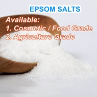 Magnesium Sulfate / Sulphate / Epsom Salt / Bitter Salt Food Grade Pure High Purity Water Soluble mgs mgo salts
