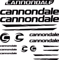 Cannondale Frame Bike Decals