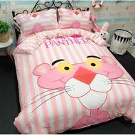 生活 百貨 熱銷 潘朵拉小姐可愛少女心 頑皮豹床包四件組/床單四件組 粉紅豹床包四件組/床單四件組 頑皮粉紅豹寢具 枕頭