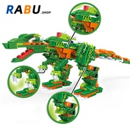 Model Dinosaur 8in1 Bricks Jurassic Park Compatible With Lego Building Blocks Kids Puzzle Toys