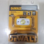 686工具 含稅價 請告知 抬頭統編 DEWALT 德偉 工具燈 頭燈 LED 200流明 台灣製 台灣之光