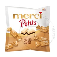 【現貨 】德國 MerciPetits 蜜思巧克力迷你裝 125G /咖啡奶油