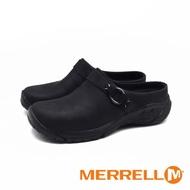 MERRELL(女) ENCORE SLIDE 4 牛皮便鞋涼拖鞋 - 黑(另有卡其灰)