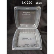 BX-290 ±50's Plastic Disposable Lunch Box / Food Container
