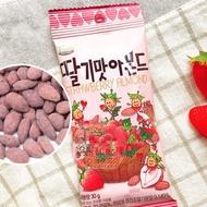 韓國 草莓奶茶風味杏仁果 30g [KR527] 蘋果甜心漾
