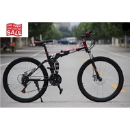 🔥SG Ready Stock🔥 Begasso 26 Inch Foldable Bicycle Upgraded 24 speed 🛡️Within 3 Days Delivery🛡️